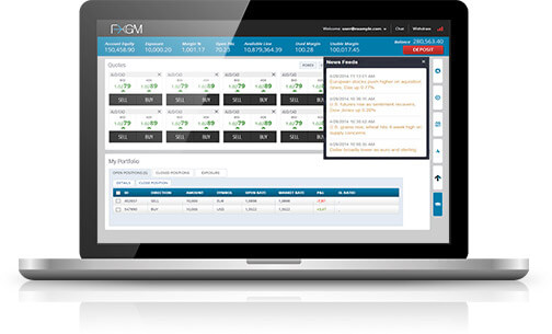 FXGM:s egna trading plattform PROfit