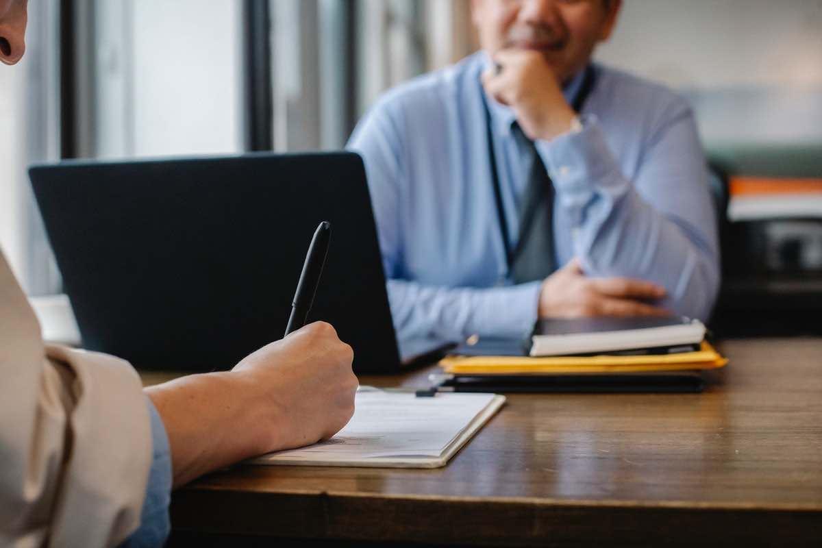 Intervju i samband med en värdering av ett företag
