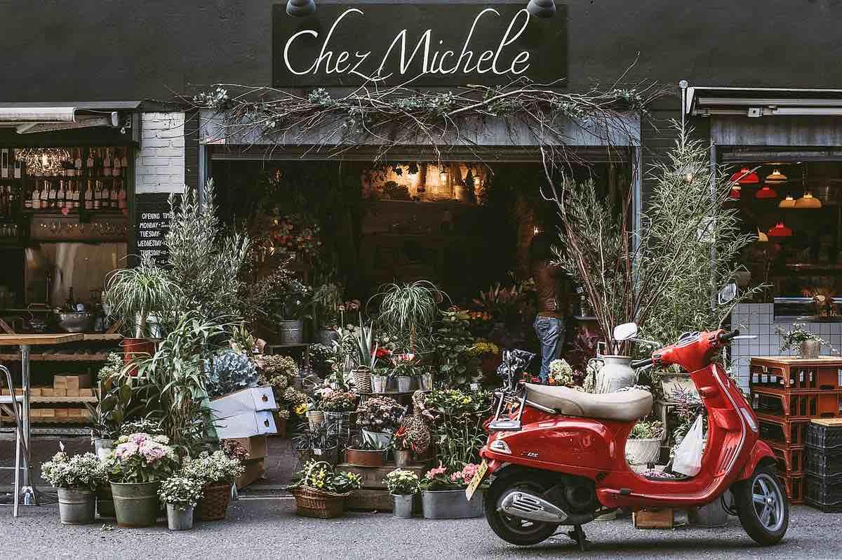 Blomsterbutik - exempel på en lokal handlare som kan använda sig av marknadsvärdering